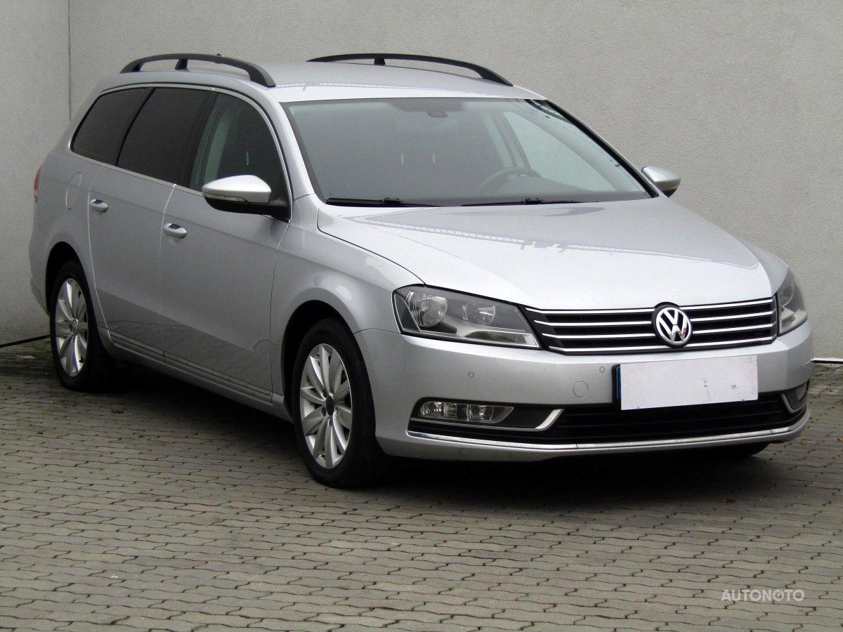 Volkswagen Passat, 2010 - celkový pohled