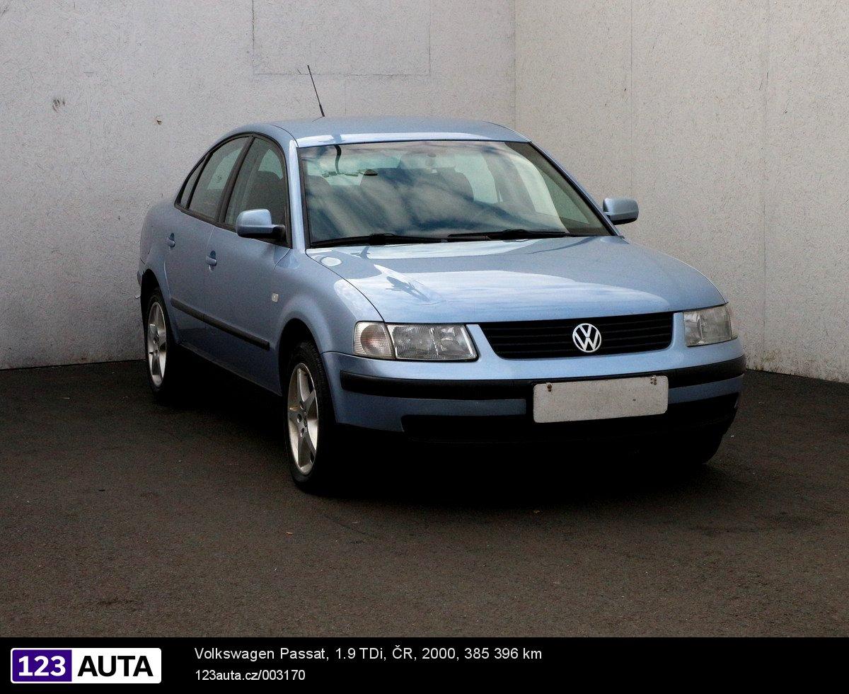 Volkswagen Passat, 2001 - celkový pohled