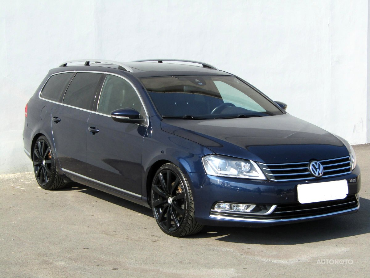 Volkswagen Passat, 2013 - celkový pohled