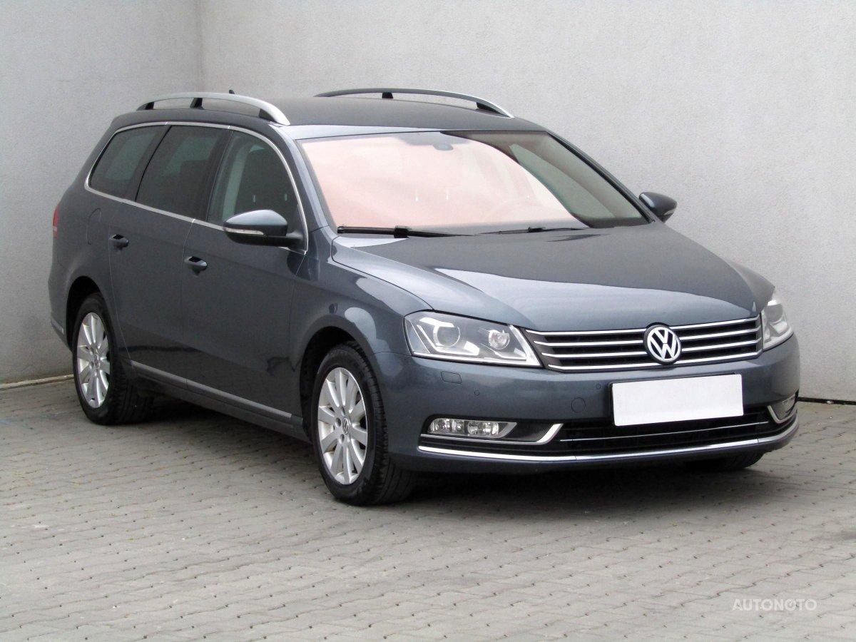 Volkswagen Passat, 2012 - celkový pohled