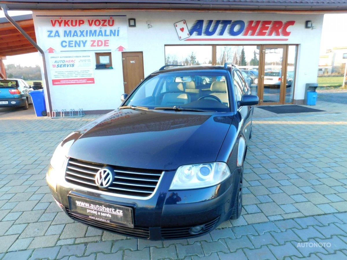 Volkswagen Passat, 2003 - celkový pohled