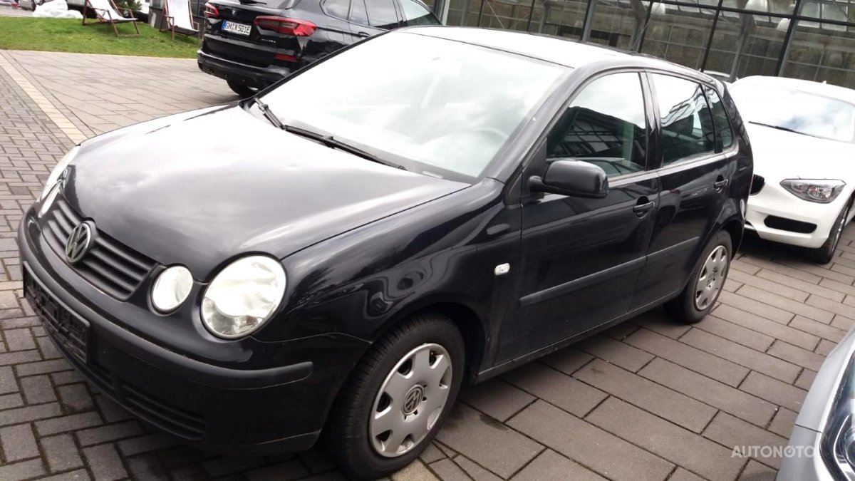 Volkswagen Polo, 2002 - celkový pohled