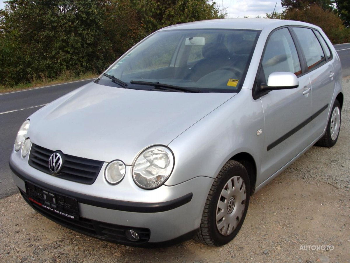 Volkswagen Polo, 2004 - celkový pohled