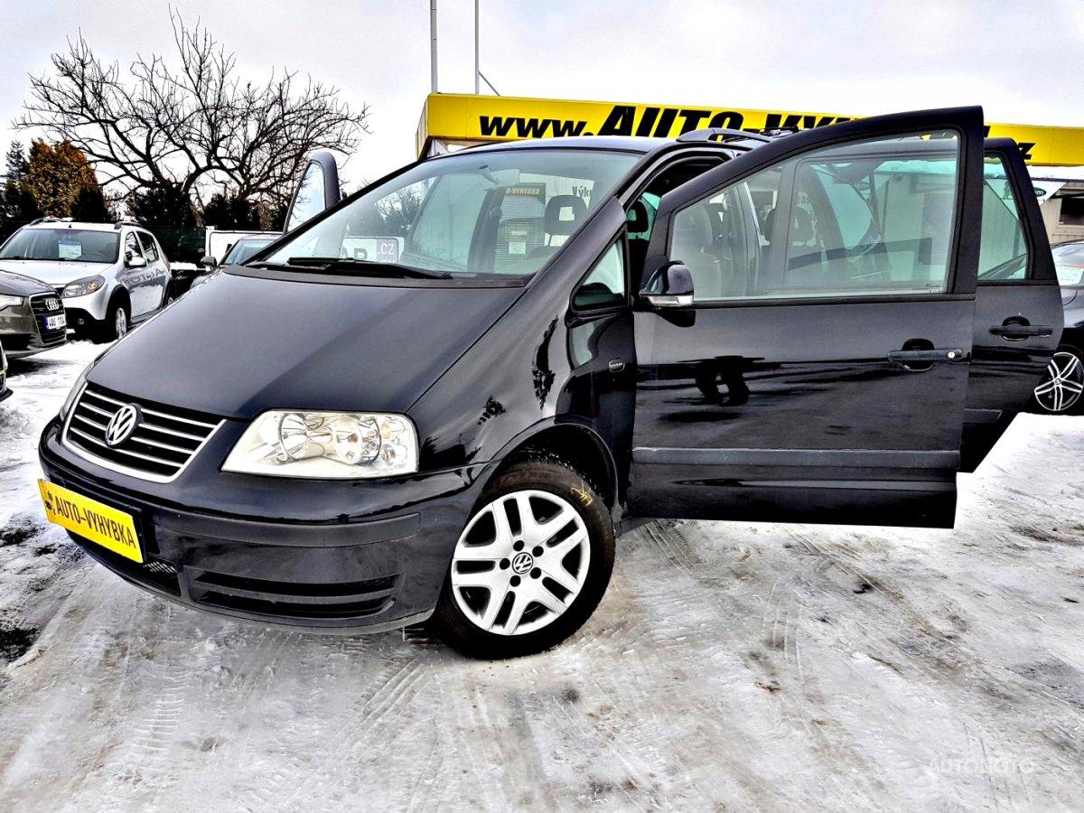 Volkswagen Sharan, 2009 - celkový pohled