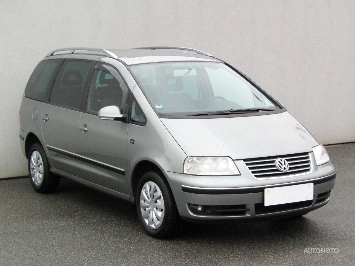 Volkswagen Sharan, 2005 - celkový pohled