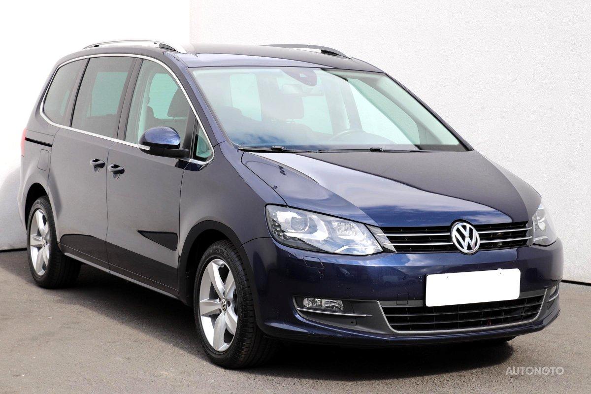 Volkswagen Sharan, 2011 - celkový pohled