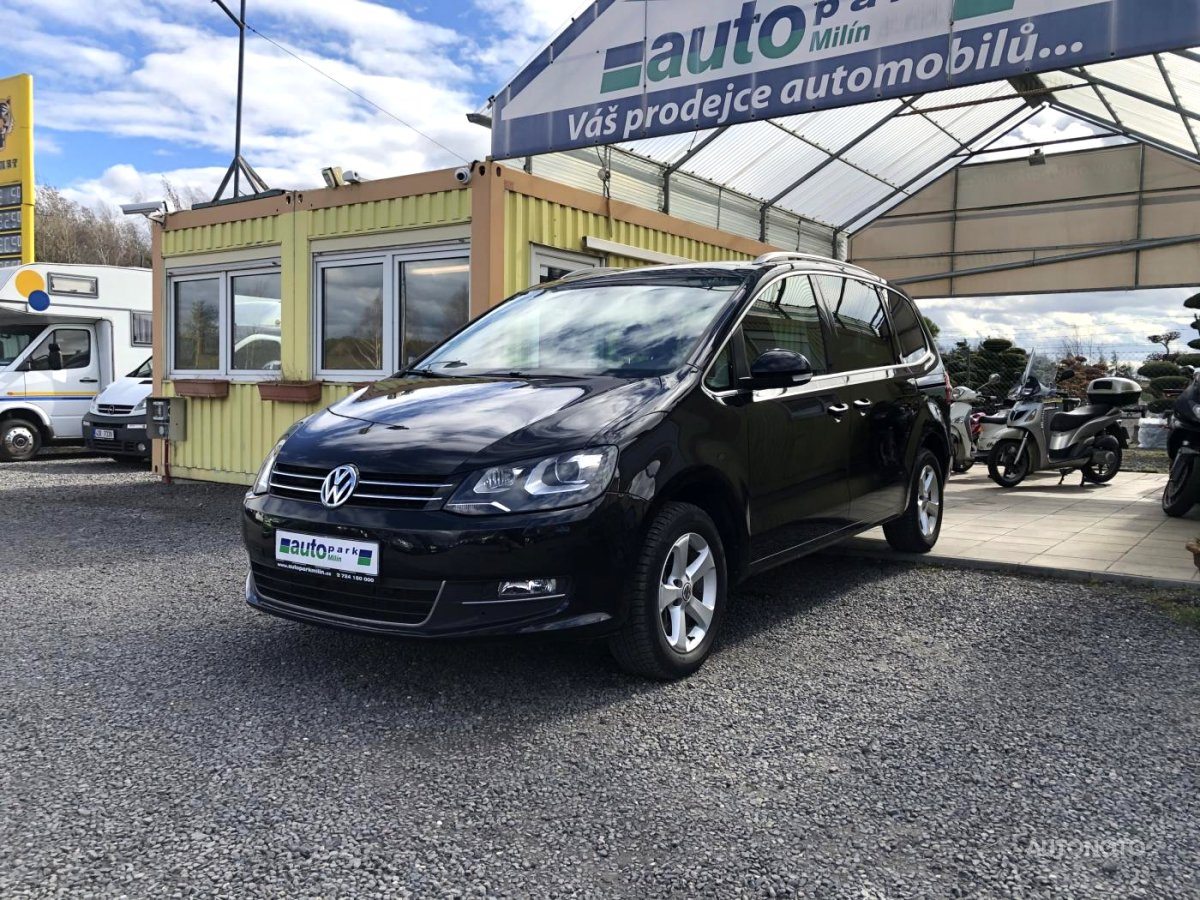 Volkswagen Sharan, 2012 - celkový pohled