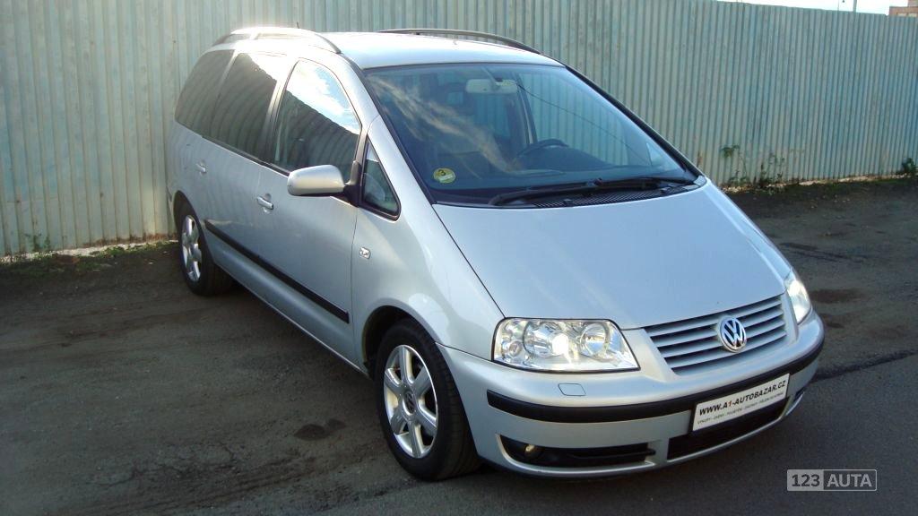 Volkswagen Sharan, 2002 - celkový pohled