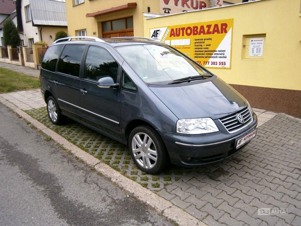 Volkswagen Sharan, 2006 - celkový pohled