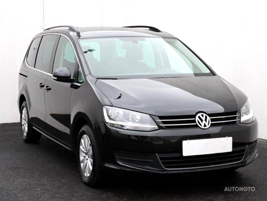 Volkswagen Sharan, 2013 - celkový pohled