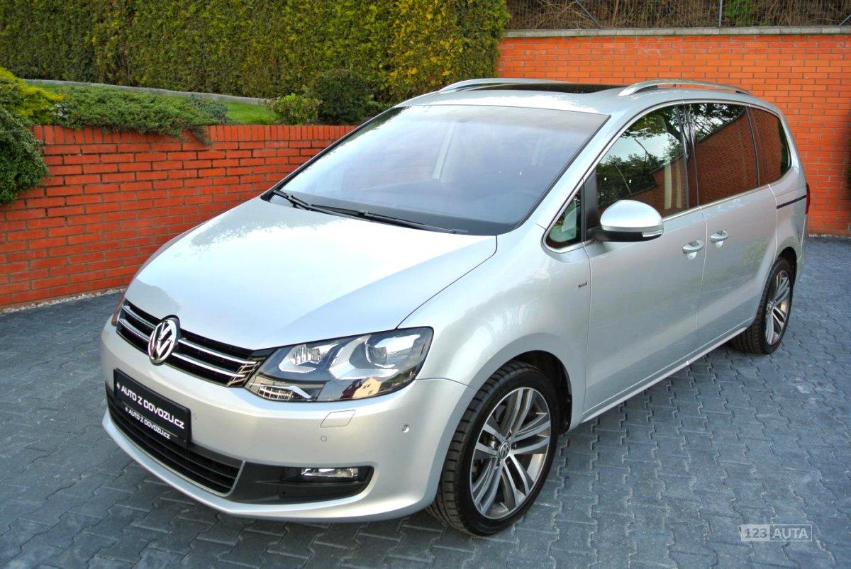 Volkswagen Sharan, 2015 - celkový pohled