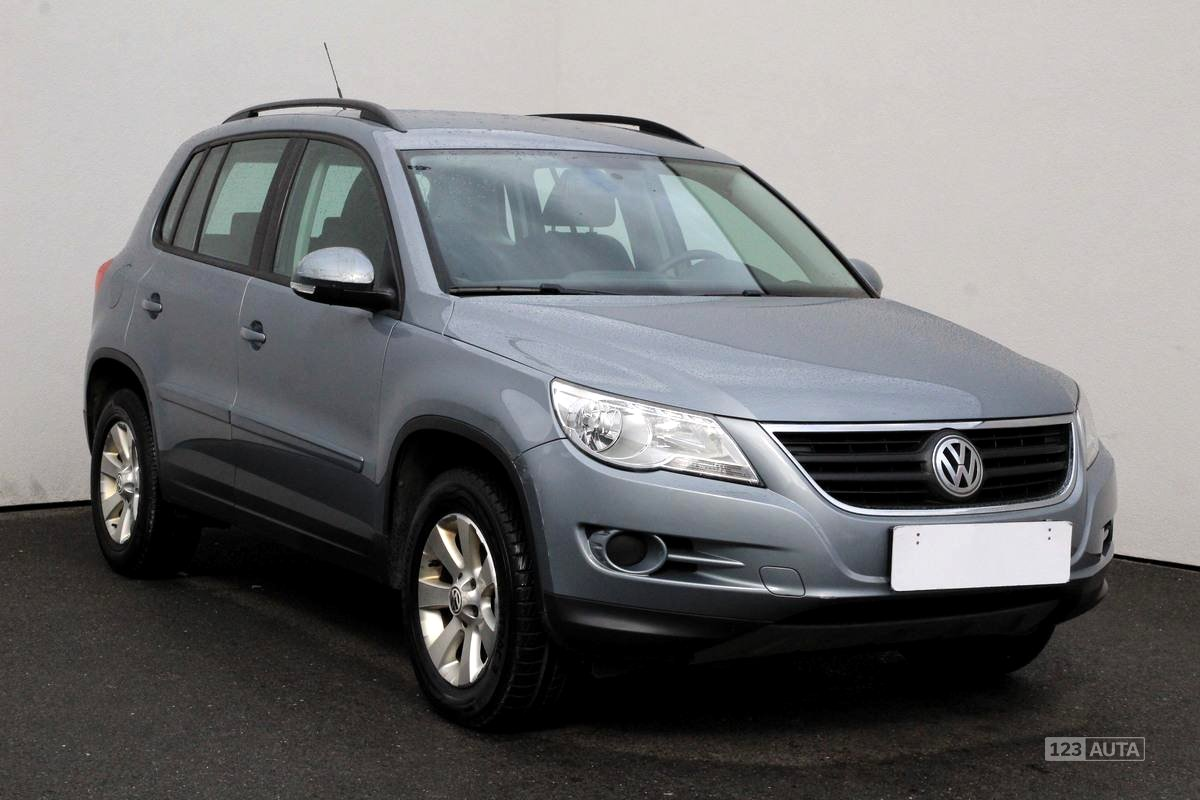 Volkswagen Tiguan, 2008 - celkový pohled
