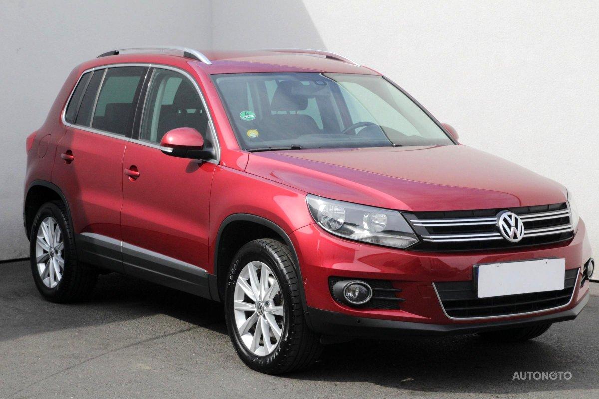 Volkswagen Tiguan, 2011 - celkový pohled