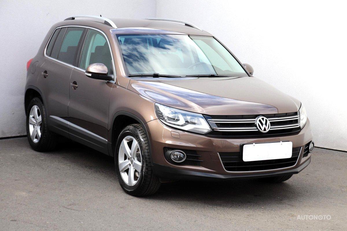 Volkswagen Tiguan, 2013 - celkový pohled