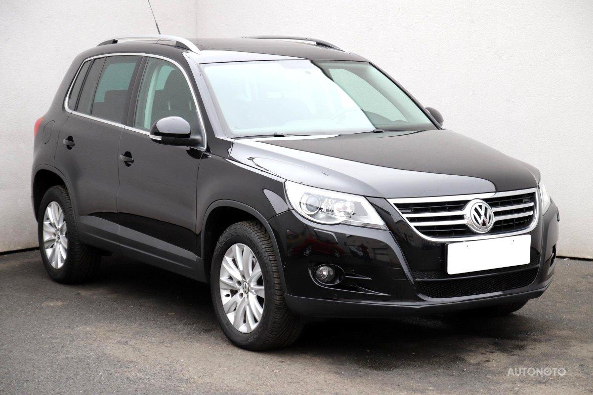 Volkswagen Tiguan, 2009 - celkový pohled