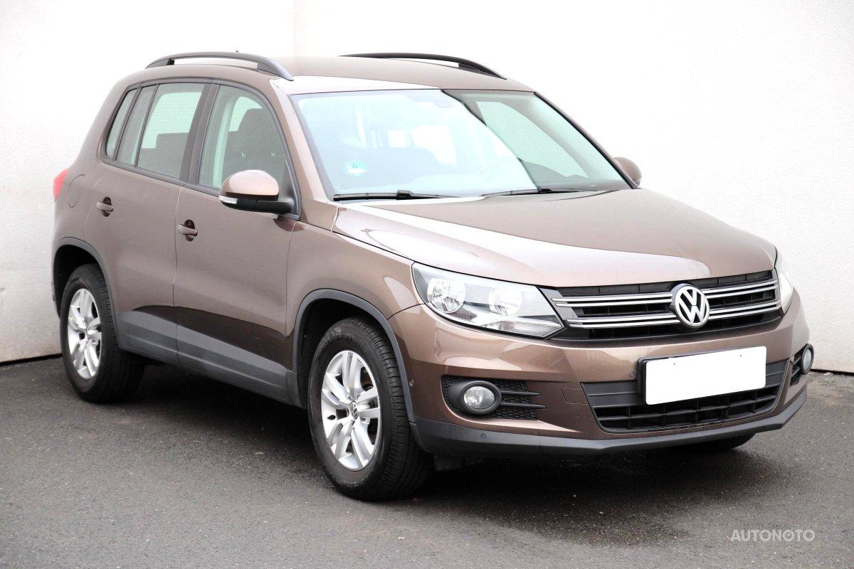 Volkswagen Tiguan, 2014 - celkový pohled
