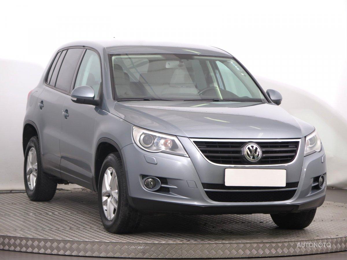 Volkswagen Tiguan, 2007 - celkový pohled