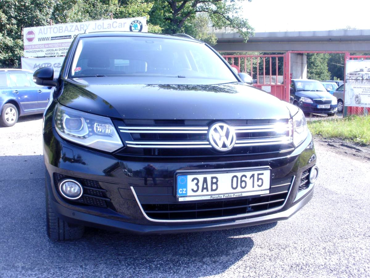 Volkswagen Tiguan, 2012 - celkový pohled