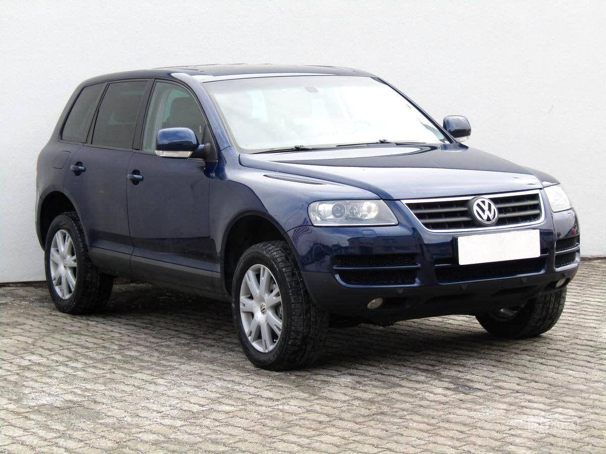 Volkswagen Touareg, 2005 - celkový pohled