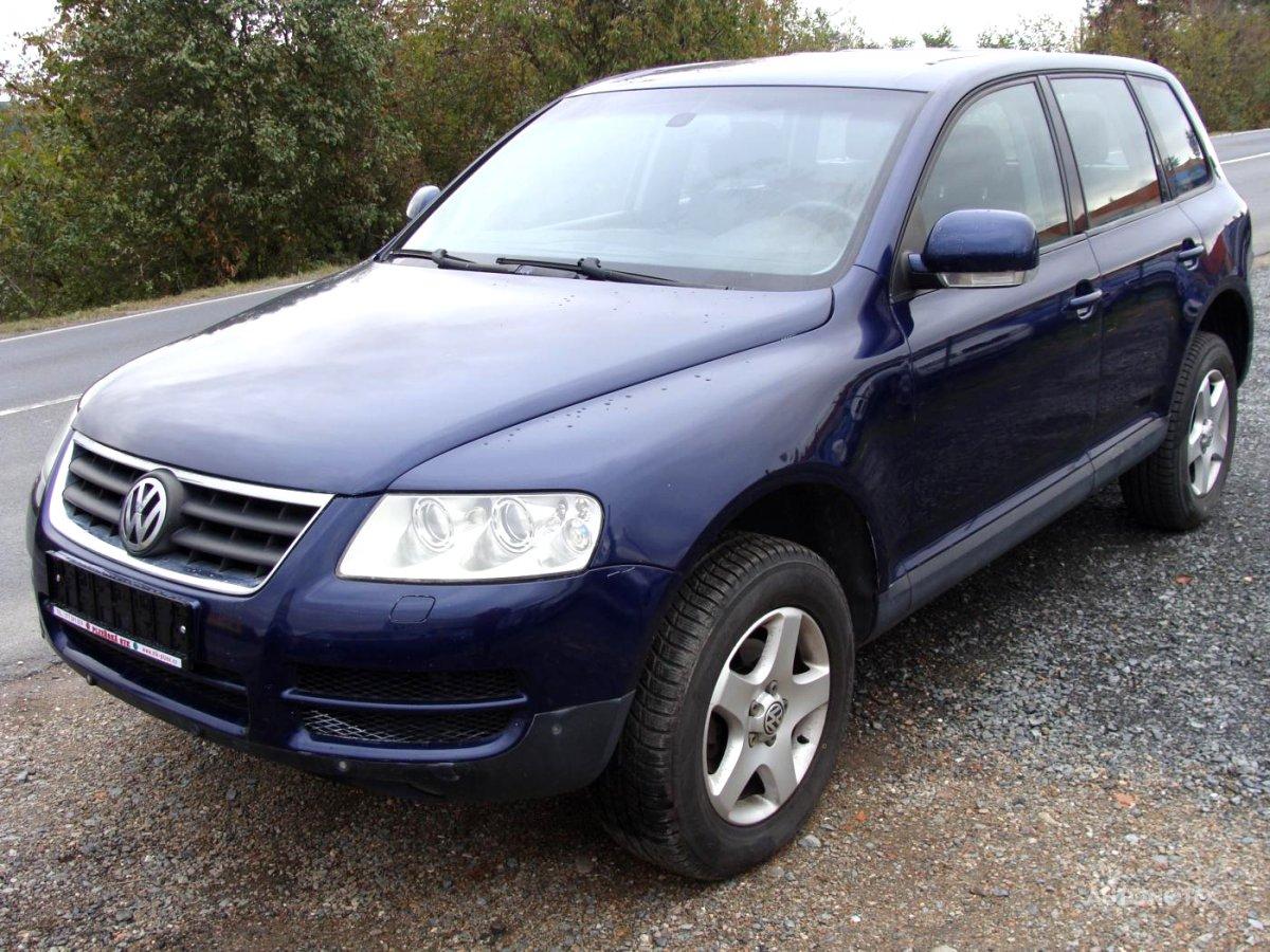 Volkswagen Touareg, 2004 - celkový pohled