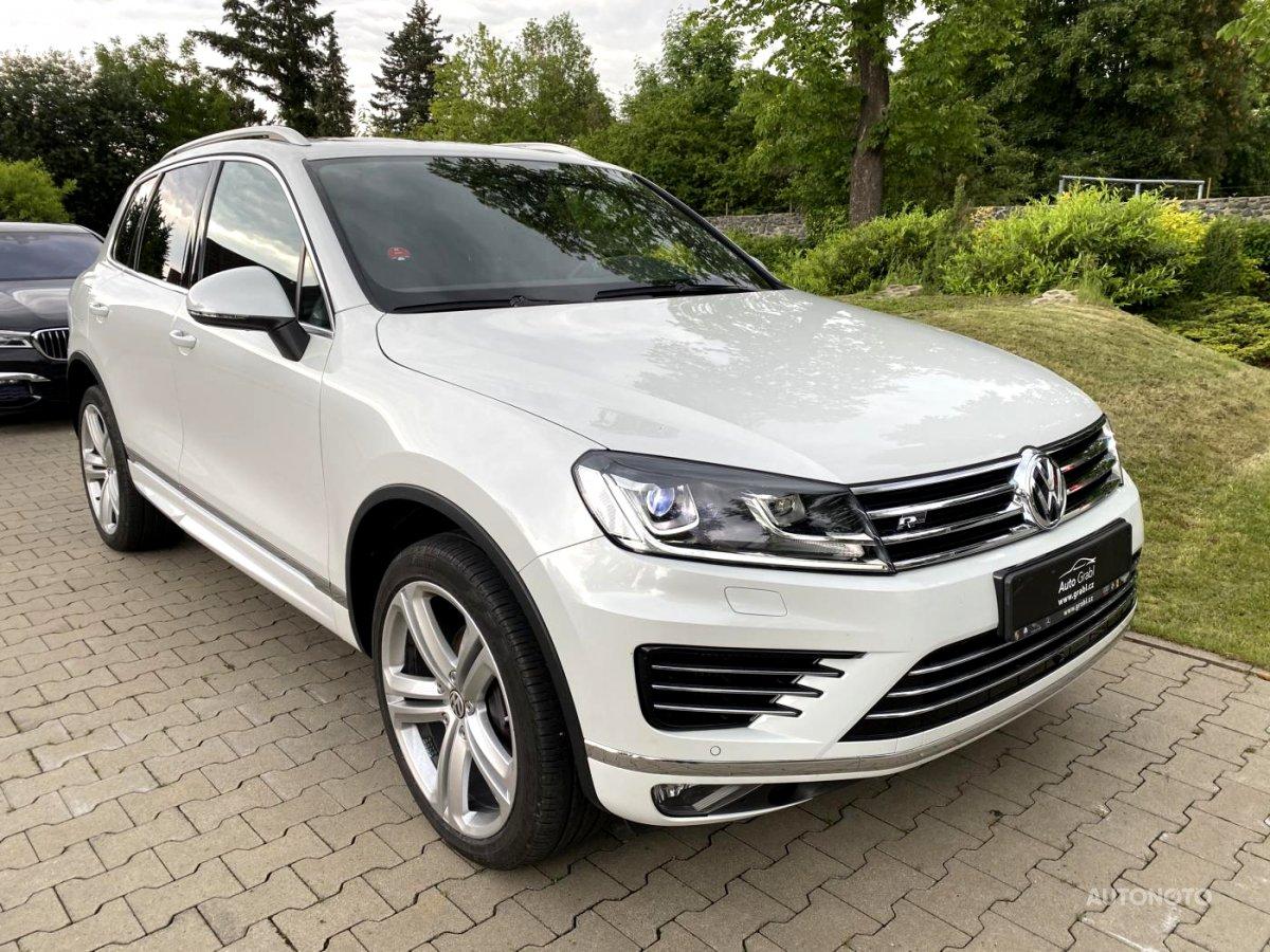 Volkswagen Touareg, 2015 - celkový pohled