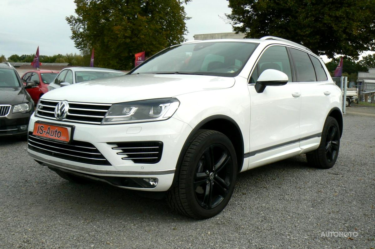 Volkswagen Touareg, 2017 - celkový pohled