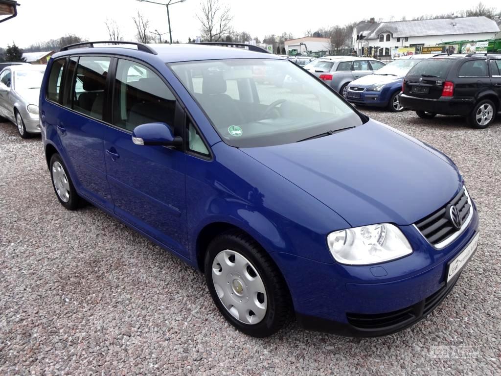 Volkswagen Touran 1,9TDi 77kw,, 2005 - celkový pohled