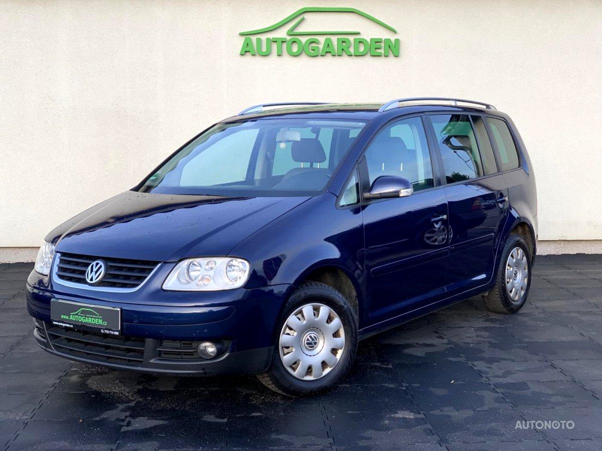 Volkswagen Touran, 2005 - celkový pohled