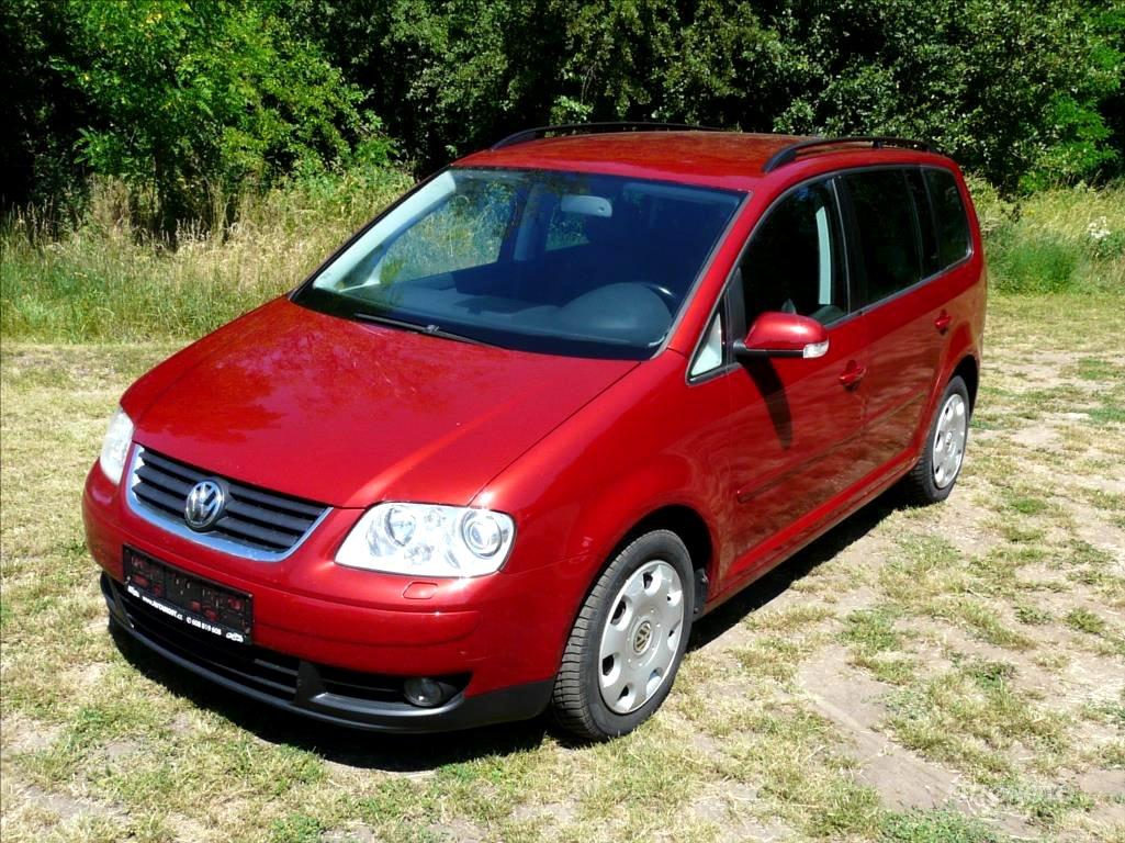 Volkswagen Touran, 2004 - celkový pohled