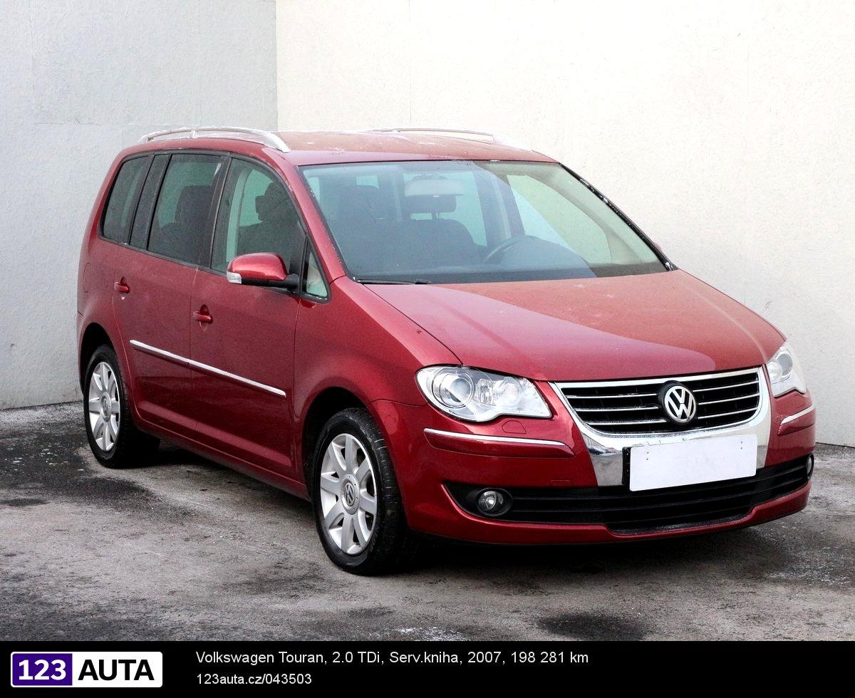 Volkswagen Touran, 2007 - celkový pohled