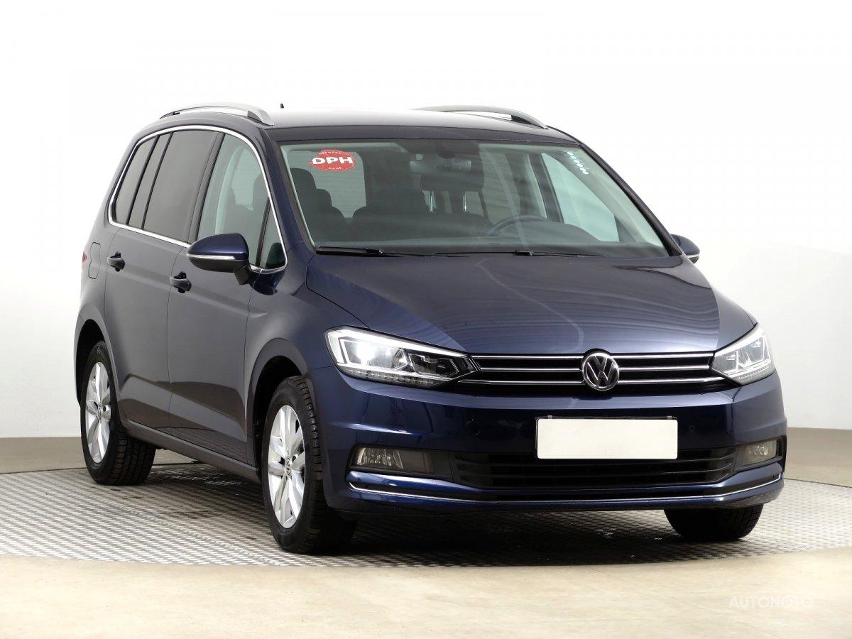 Volkswagen Touran, 2019 - celkový pohled