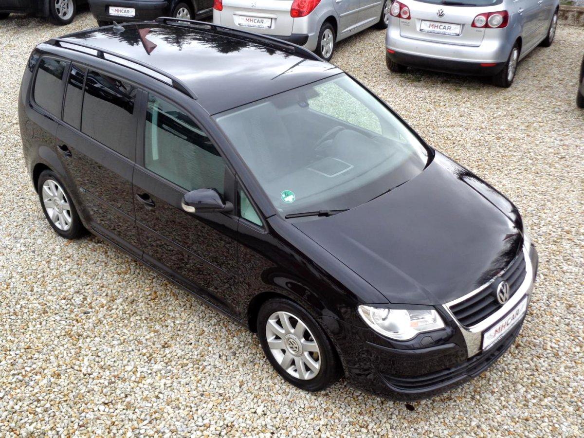 Volkswagen Touran, 2008 - celkový pohled