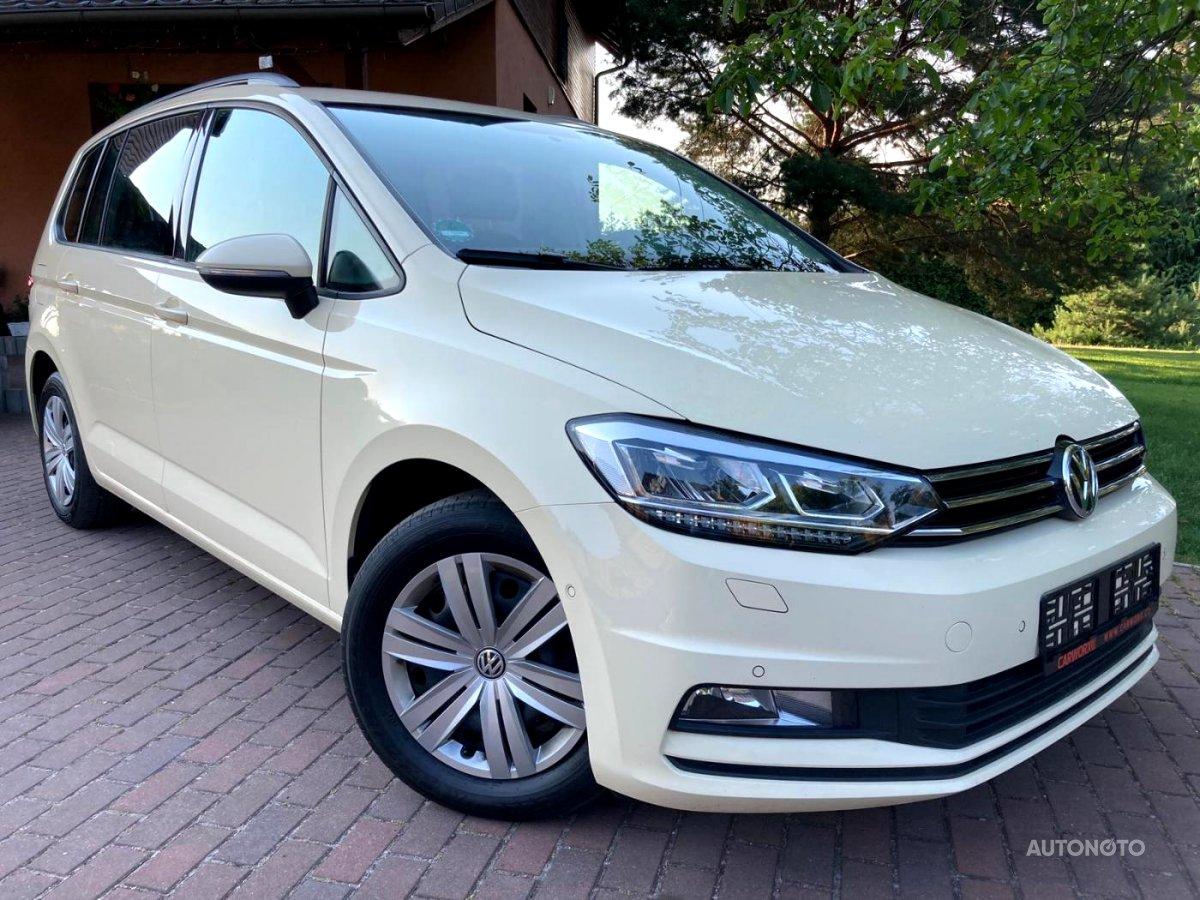 Volkswagen Touran, 2016 - celkový pohled