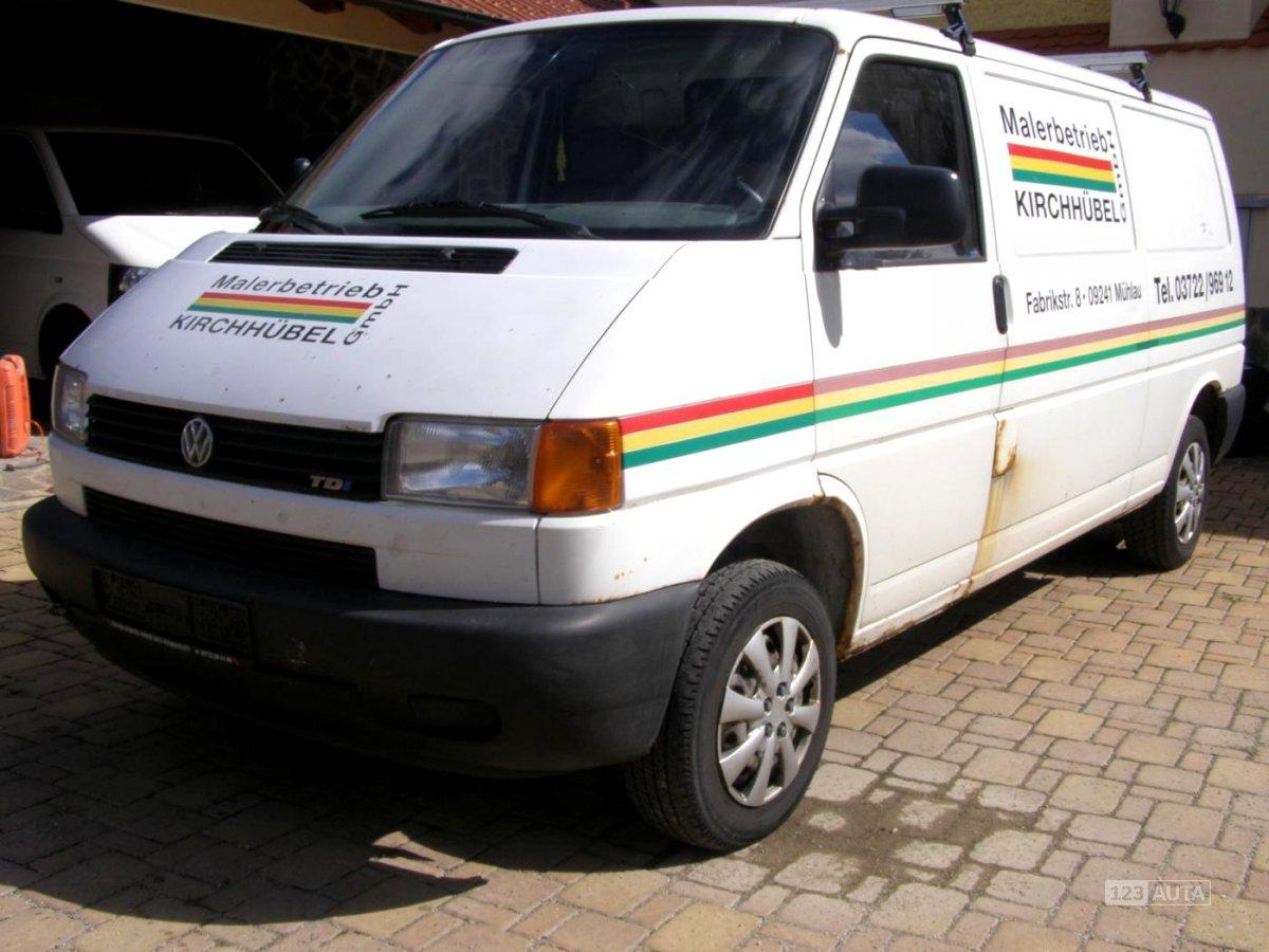 Volkswagen Transporter, 1998 - celkový pohled