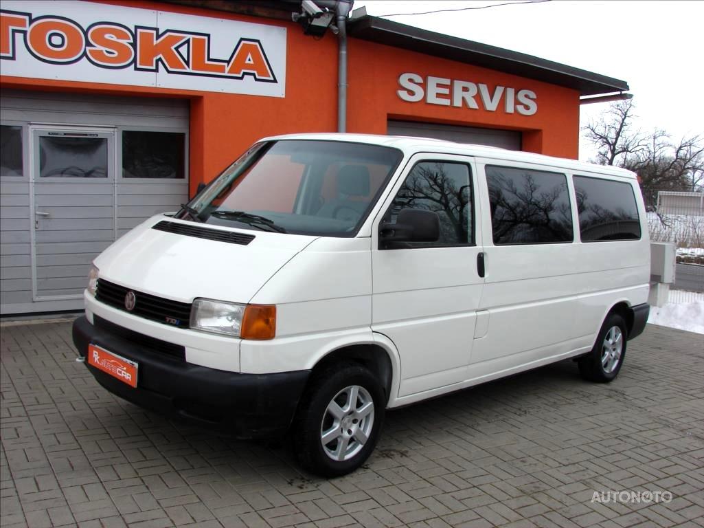 Volkswagen Transporter, 2002 - celkový pohled