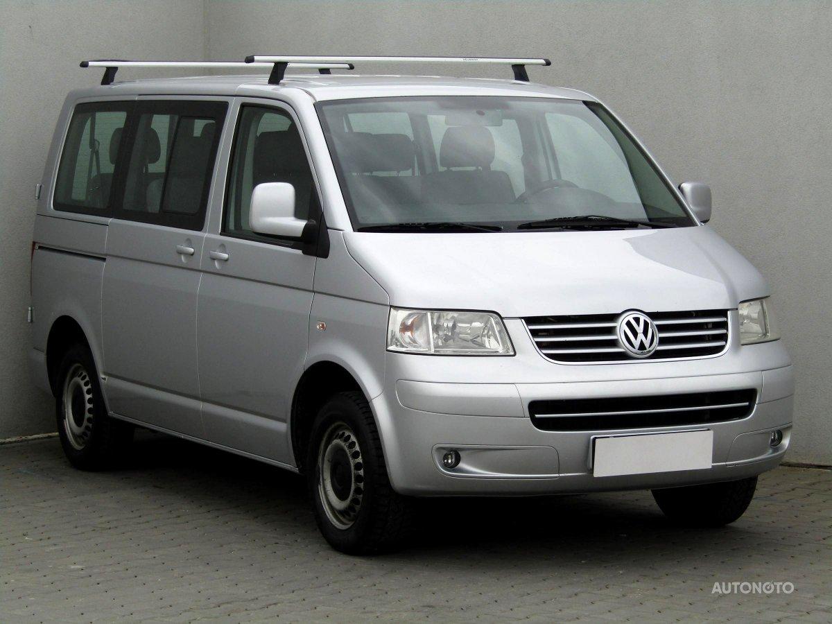 Volkswagen Transporter, 2009 - celkový pohled