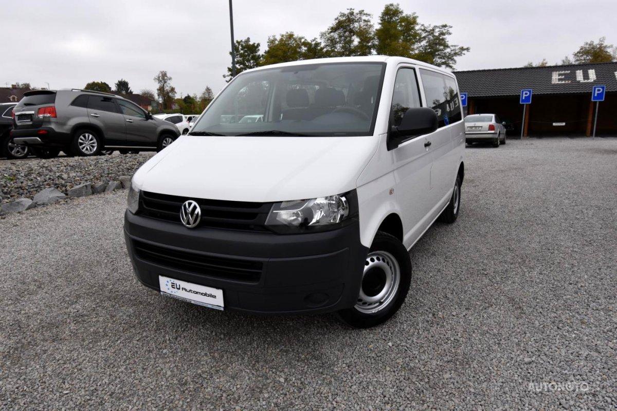 Volkswagen Transporter, 2013 - celkový pohled