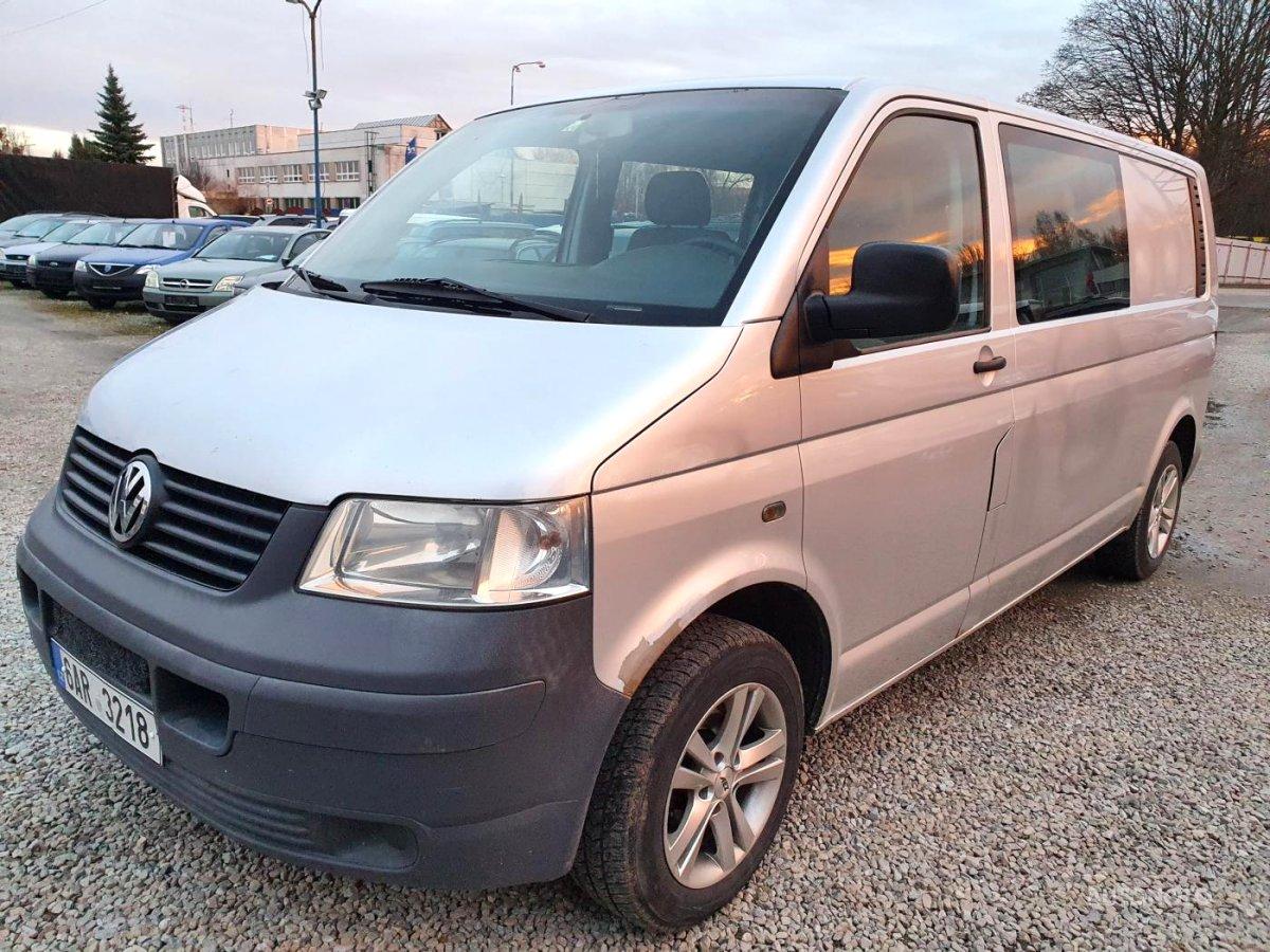Volkswagen Transporter, 2005 - celkový pohled