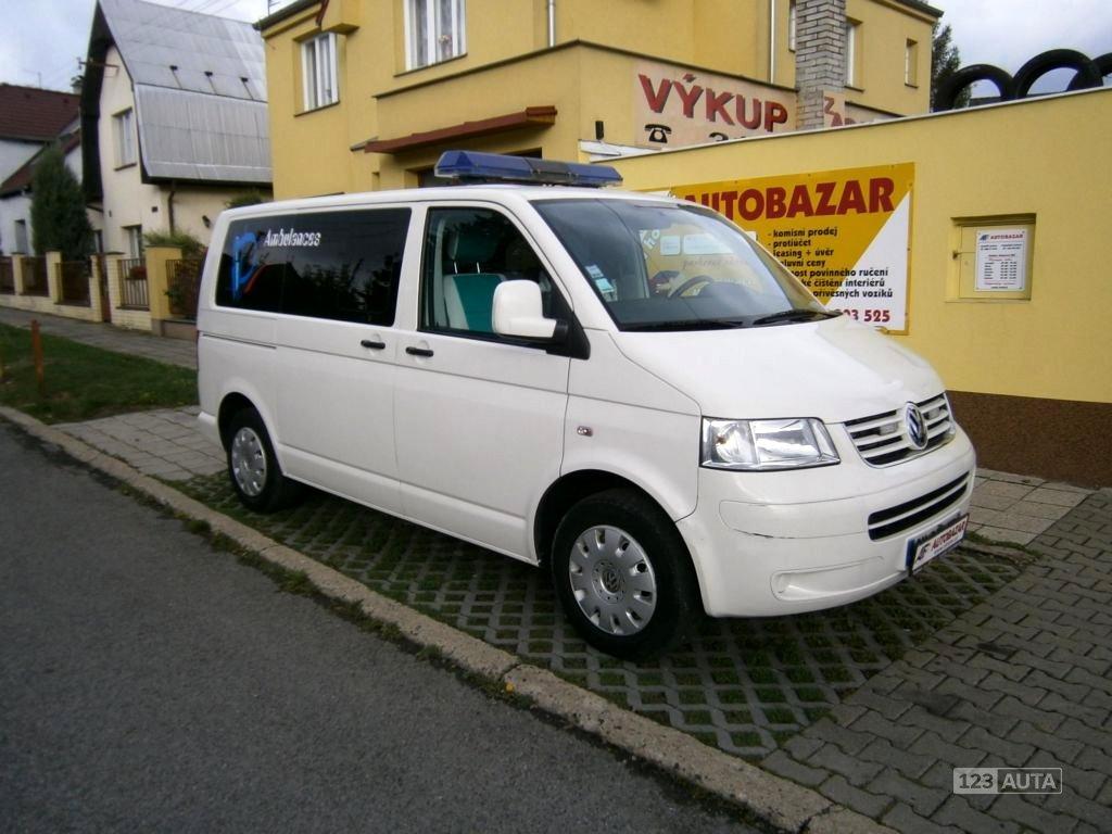 Volkswagen Transporter, 2010 - celkový pohled