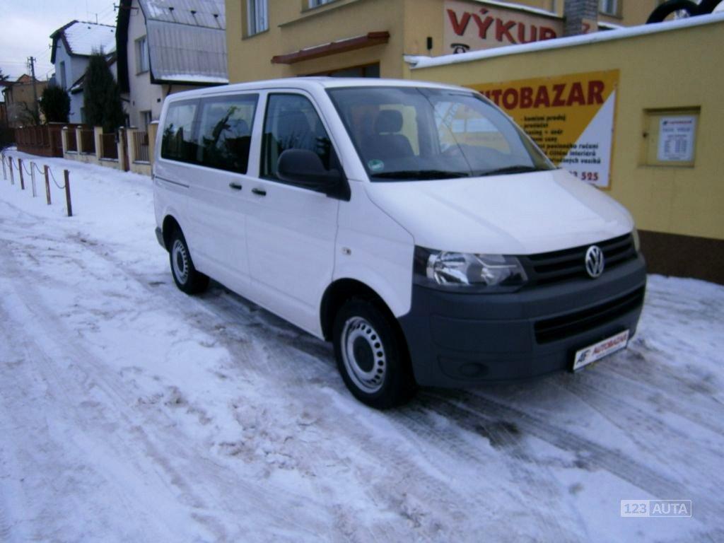 Volkswagen Transporter, 2011 - celkový pohled