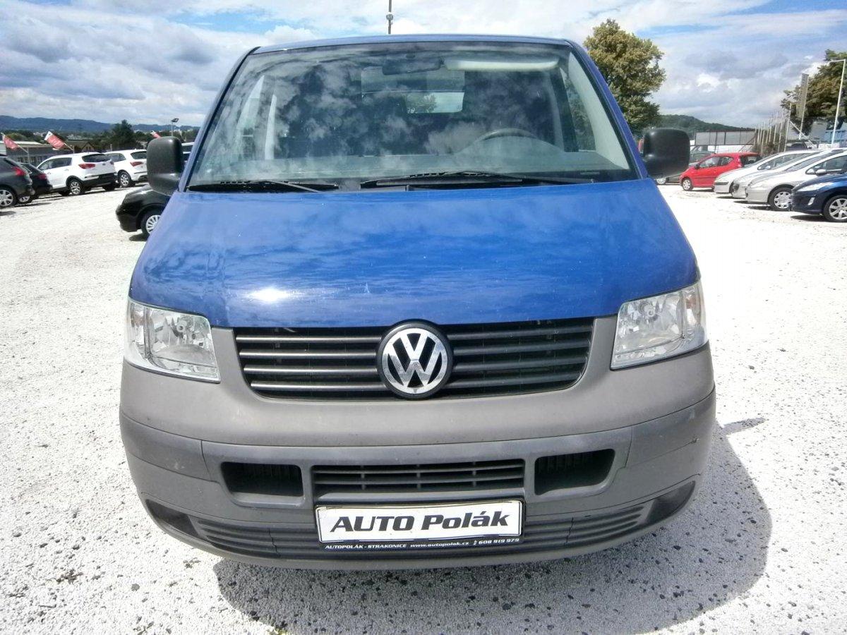 Volkswagen Transporter, 2008 - celkový pohled