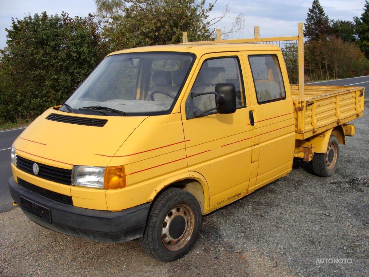 Volkswagen Transporter, 1991 - celkový pohled