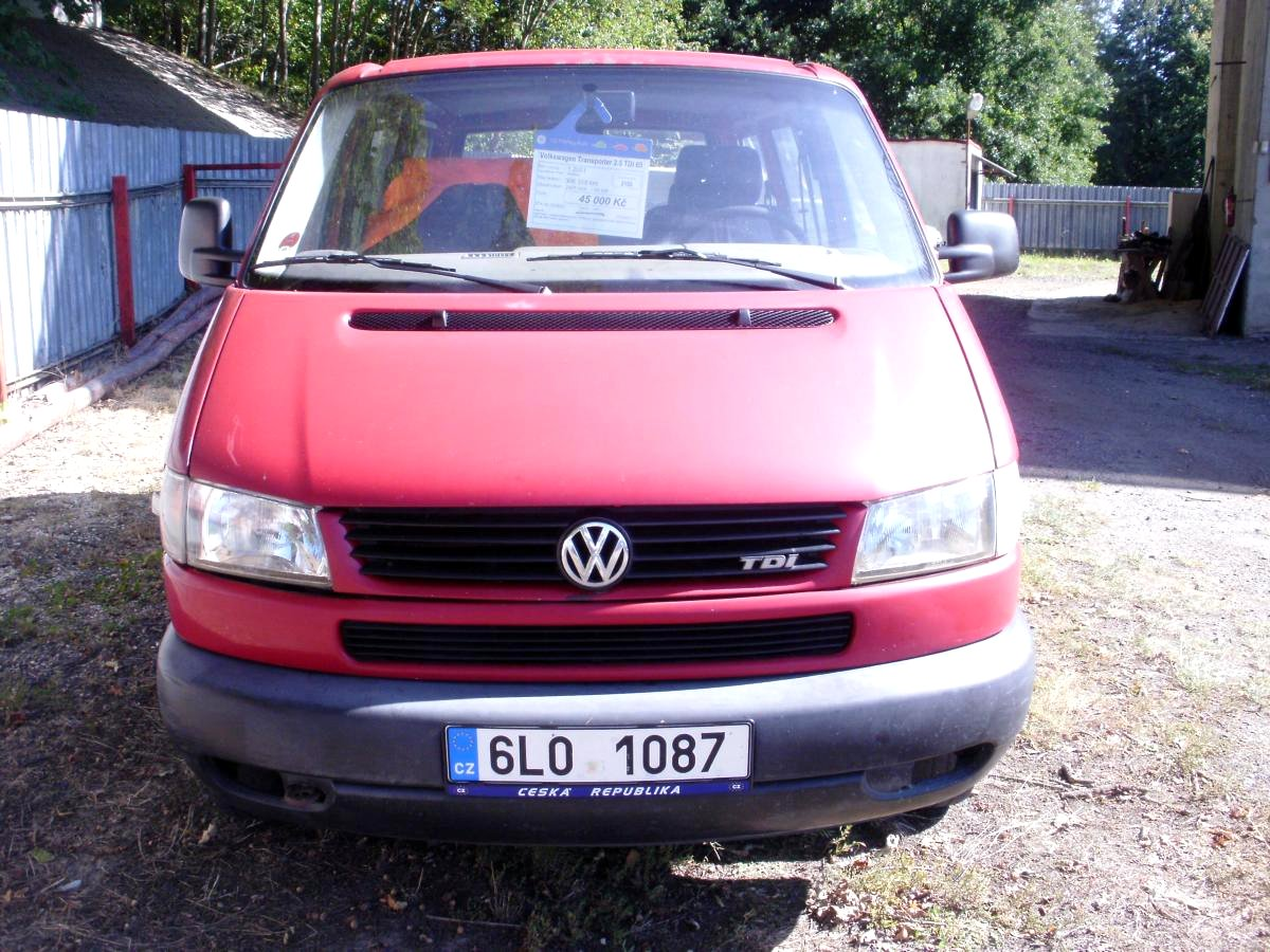 Volkswagen Transporter, 2001 - celkový pohled