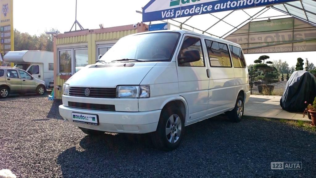 Volkswagen Transporter, 1995 - celkový pohled