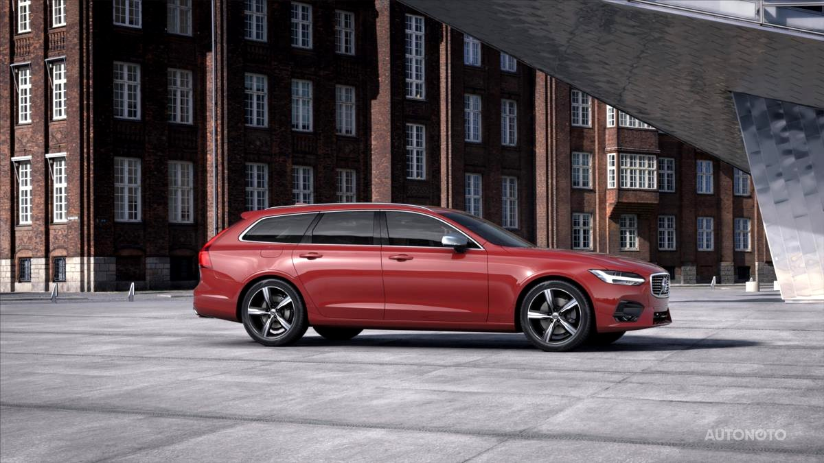 Volvo V90, 2019 - celkový pohled